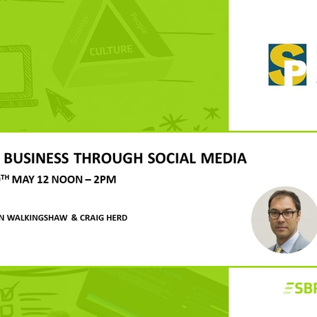 "SPA Member Sales Masterclass - ""Winning Business Through Social Media"""